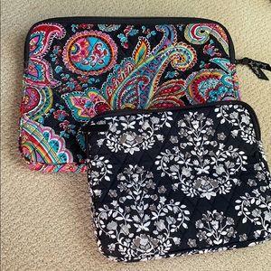 Vera Bradley laptop case and iPad case